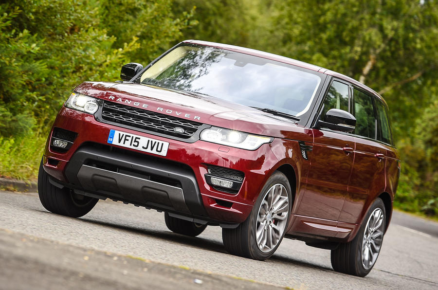 the new range rover sport autobiography