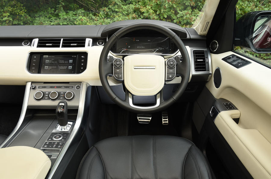 Range Rover Sport Autobiography Dynamic dashboard