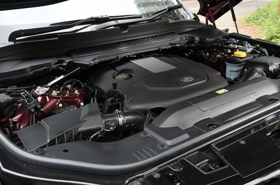 3.0 TDV6 Range Rover Sport engine