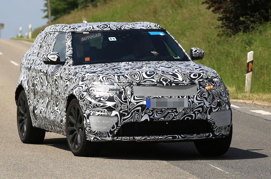 2017 Range Rover Sport Coup spotted on video  Autocar