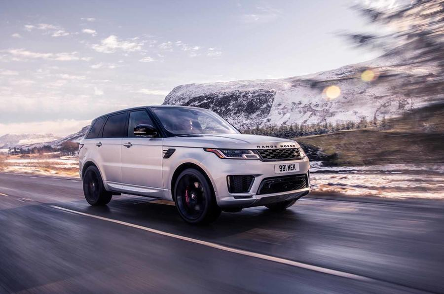 Range Rover Sport HST revealed for the UK
