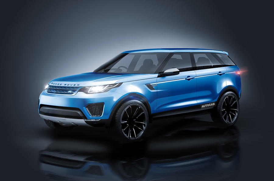 2017 Range Rover Velar as imagined by Autocar