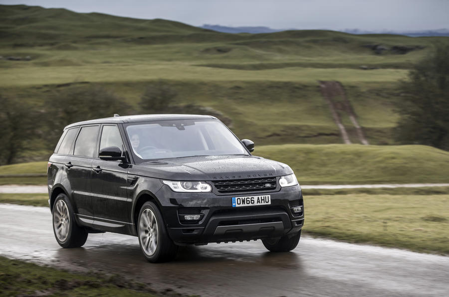 range rover sport 3 0 v6 supercharged hse dynamic 2017 review autocar. Black Bedroom Furniture Sets. Home Design Ideas