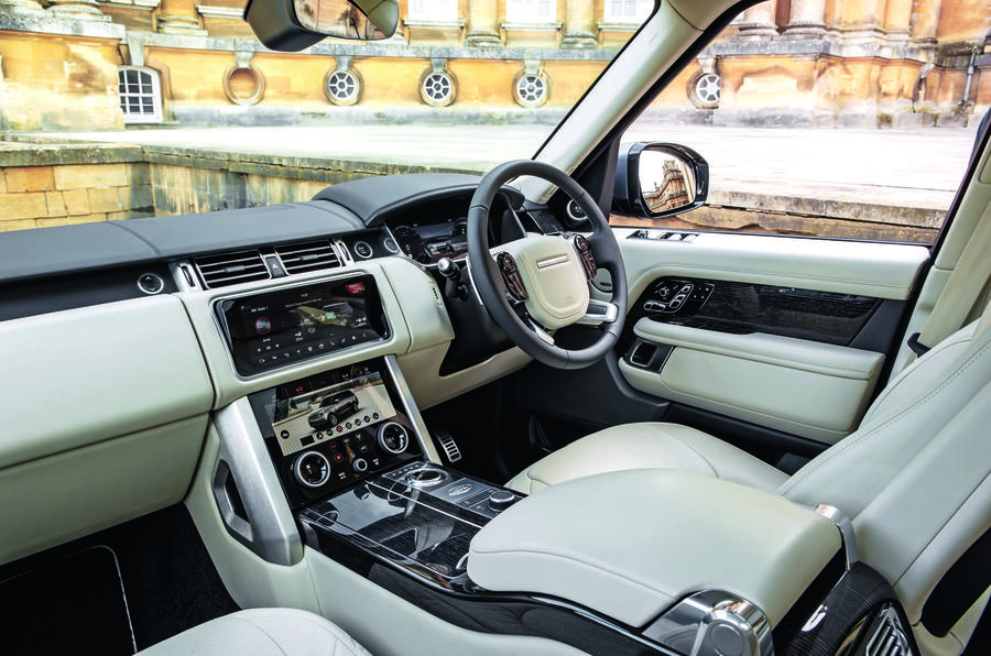 Range Rover Sport - front seats