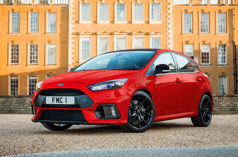 Ford Focus RS Edition gains Race Red swansong version