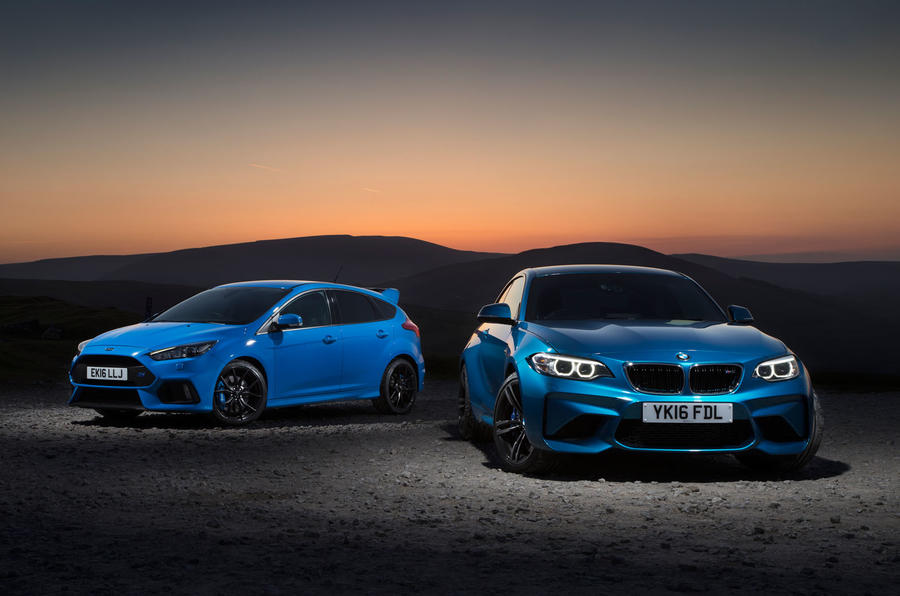Bmw Twin Turbo >> Ford Focus RS vs BMW M2 - twin test | Autocar
