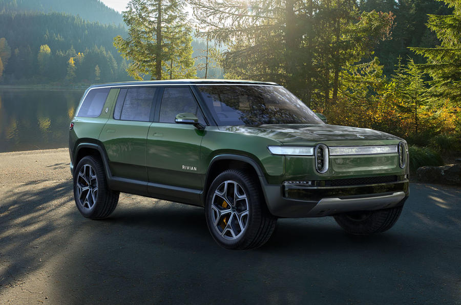 Electric Start Up Rivian Unveils R1s Suv And R1t Pick Up
