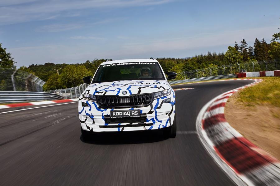 237bhp Skoda Kodiaq vRS sets seven-seat SUV Nurburgring lap record