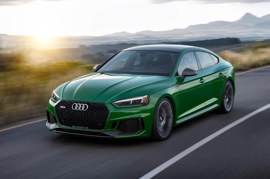 Audi's manic RS5 gets Sportback bodystyle