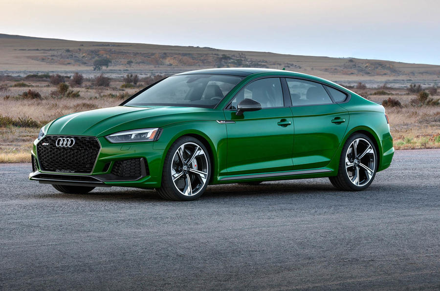First Audi RS5 Sportback makes debut with 444bhp turbocharged V6