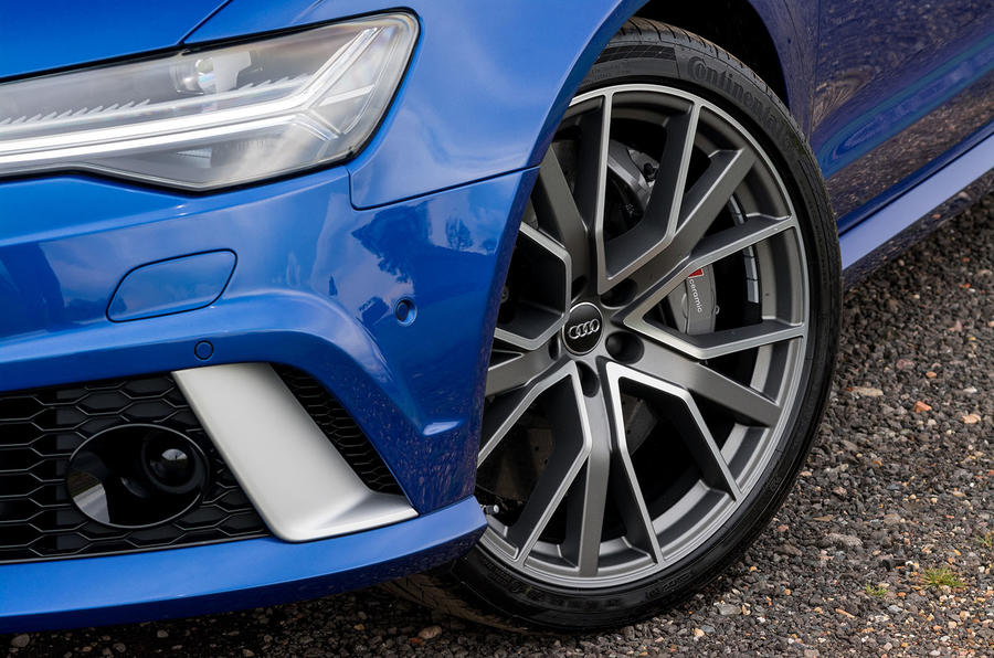 20in Audi RS6 Performance alloys