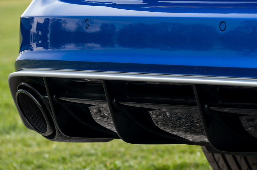 Audi RS6 Performance rear diffuser