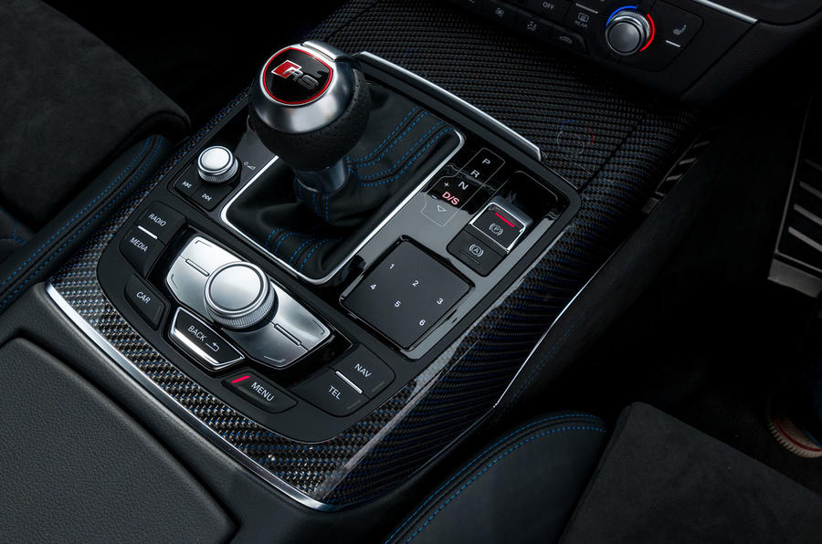 Audi RS6 Performance S-Tronic gearbox