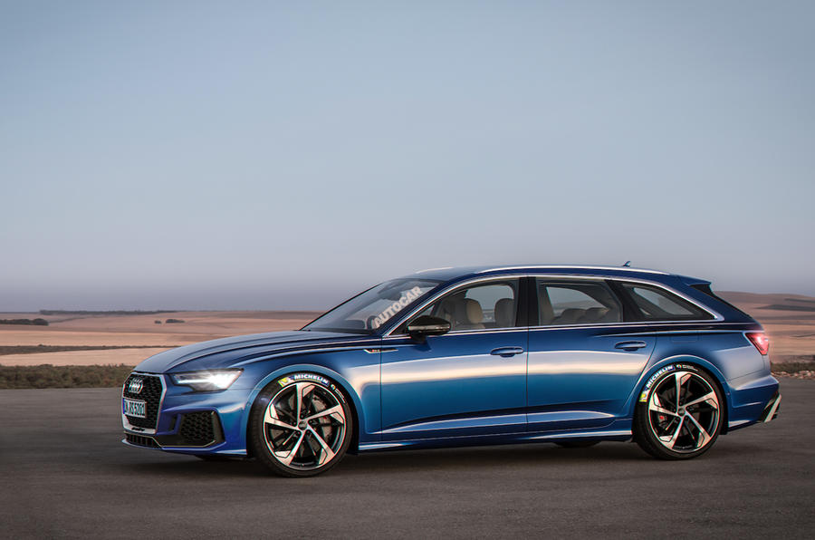 new audi rs6 avant 600bhp estate hits the nurburgring autocar. Black Bedroom Furniture Sets. Home Design Ideas