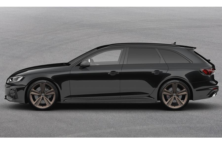 2020 Audi RS4 Avant Bronze Edition - side
