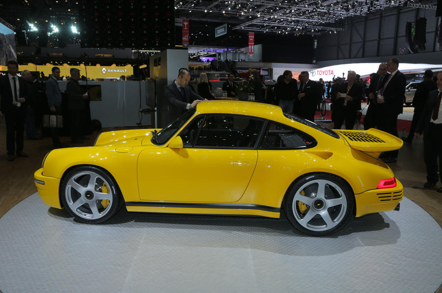 Ruf CTR , the 700bhp sports car inspired by the Porsche 911