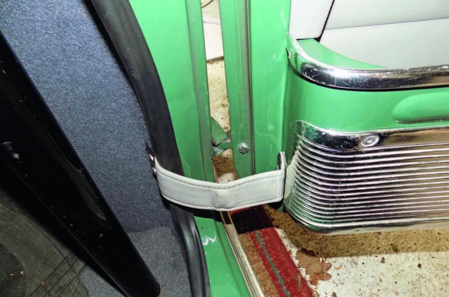 Mini Cooper door jamb
