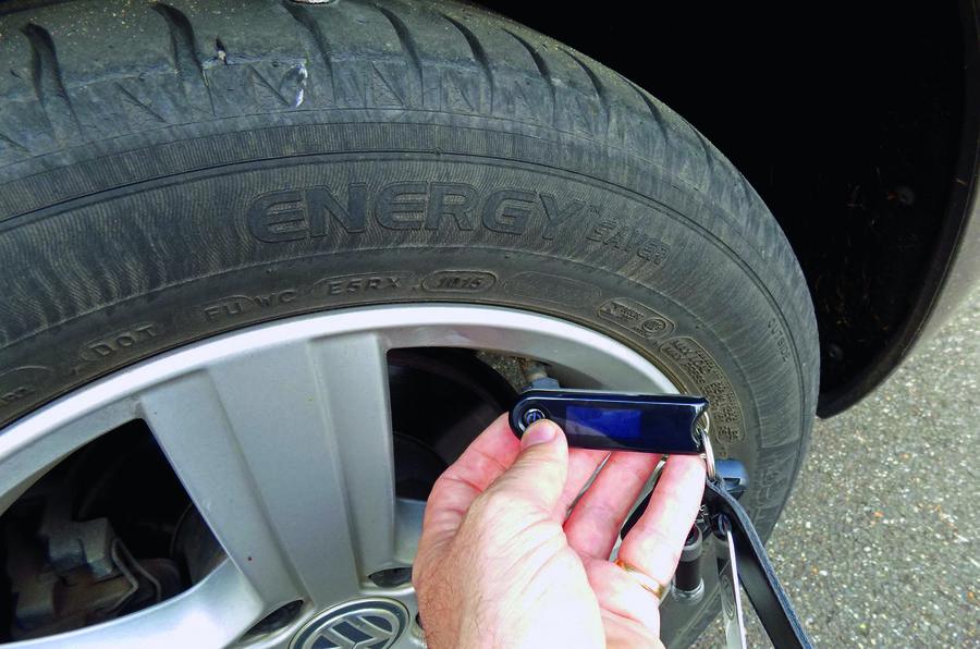 Michelin tyre pressure sensor