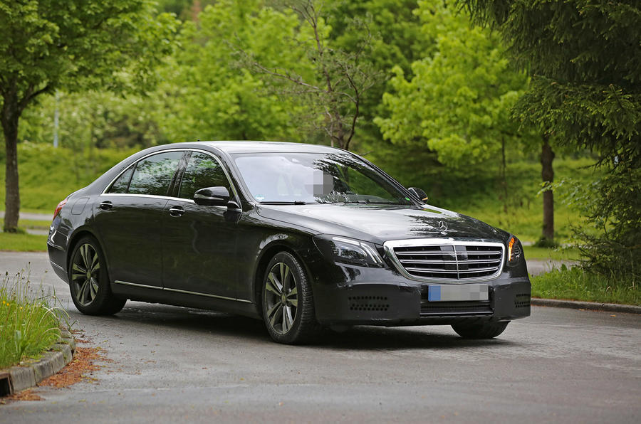 2017 mercedes benz s 500 e to get wireless charging autocar for Mercedes benz 500 2017