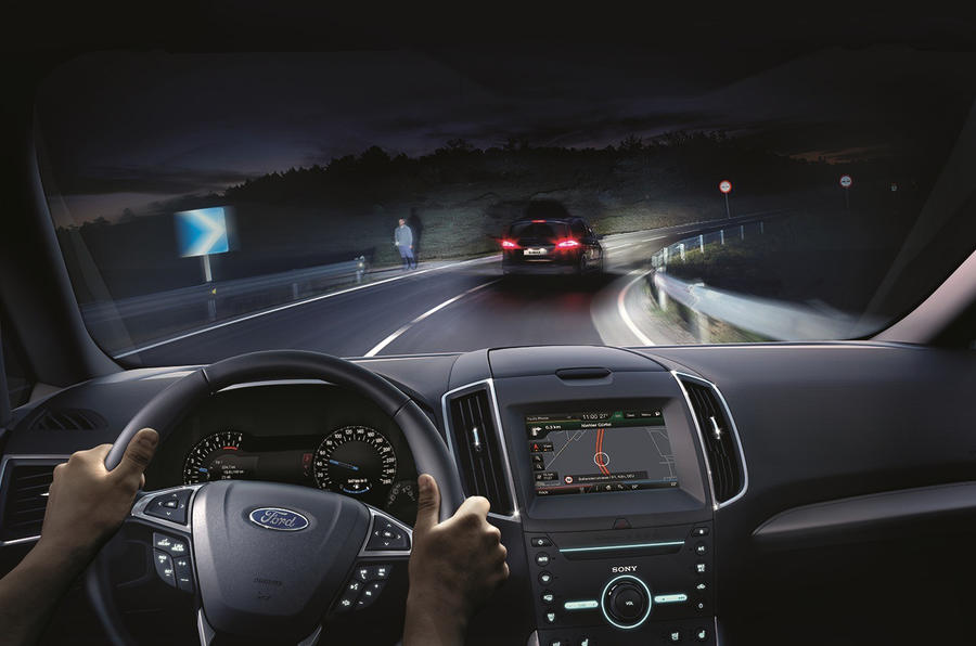 Ford adaptive LED headlights