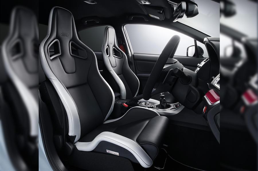Subaru S208 interior