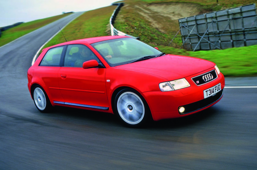 Used car buying guide: Audi S3 Mk1 - front