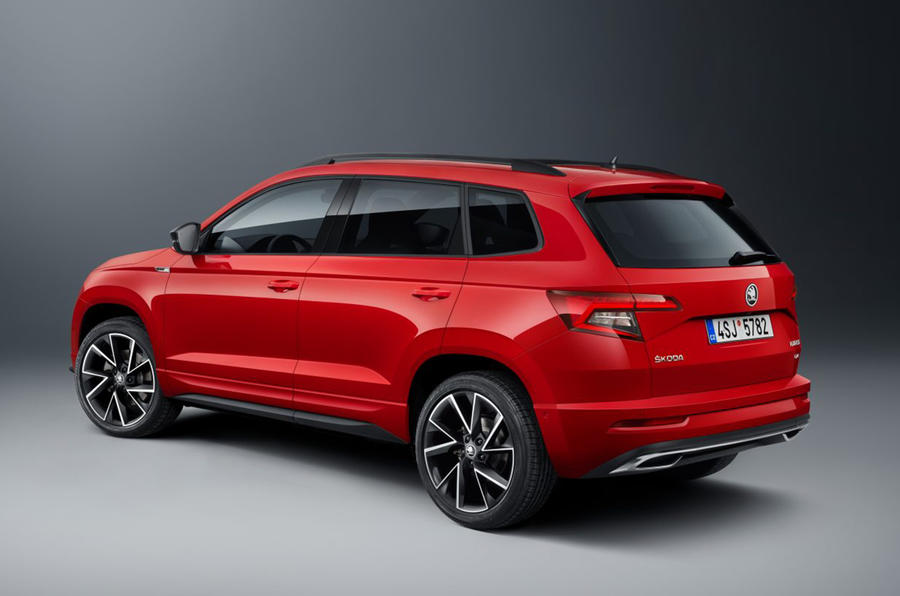 Skoda Karoq Sportline is SUV's sporty flagship