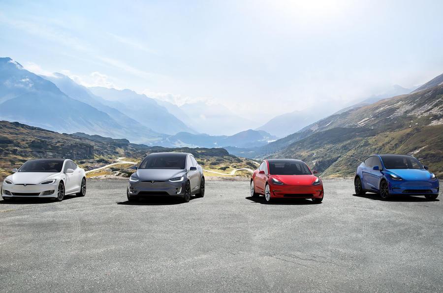 Tesla Model X Model Y Model 3 Model S
