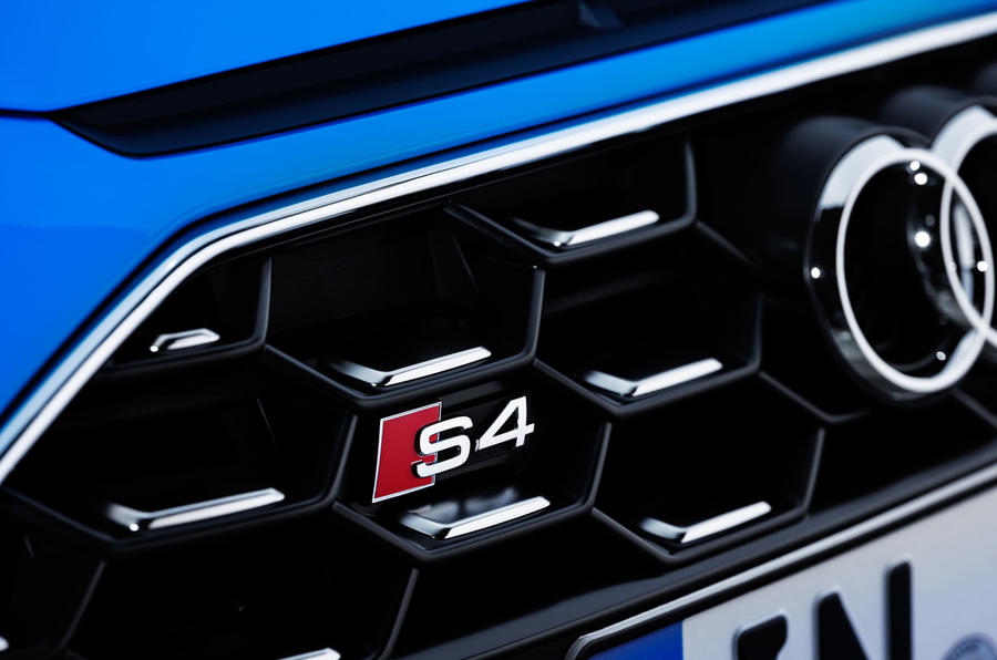 2019 Audi S4 press packet - grille