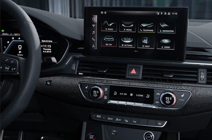 2019 Audi S4 press packet - infotainment