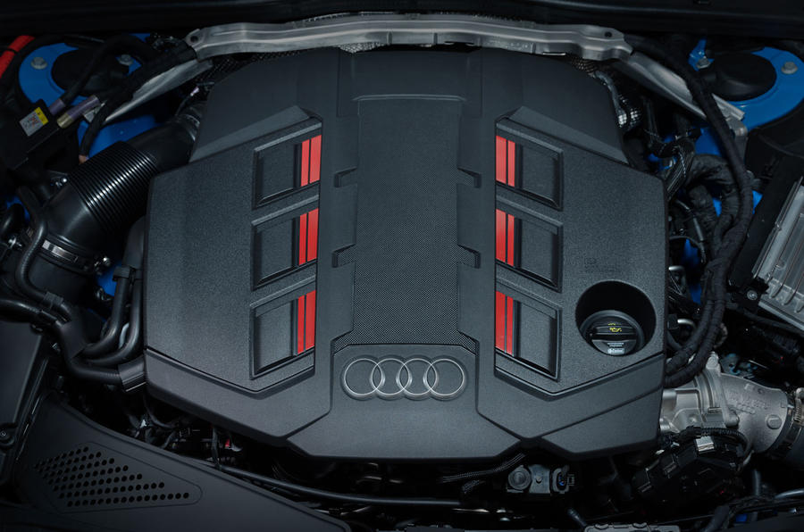 2019 Audi S4 press packet - engine