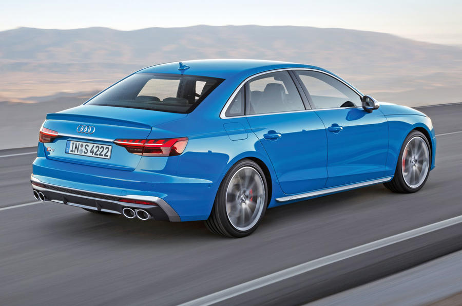 2019 Audi S4 press packet - rear