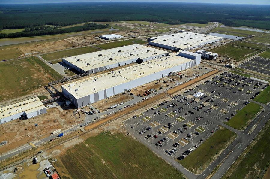 Volvo plant in Charleston, South Carolina