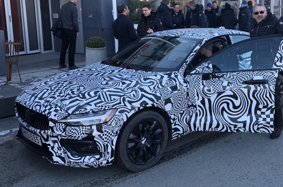 New Volvo S60 previewed ahead of summer reveal