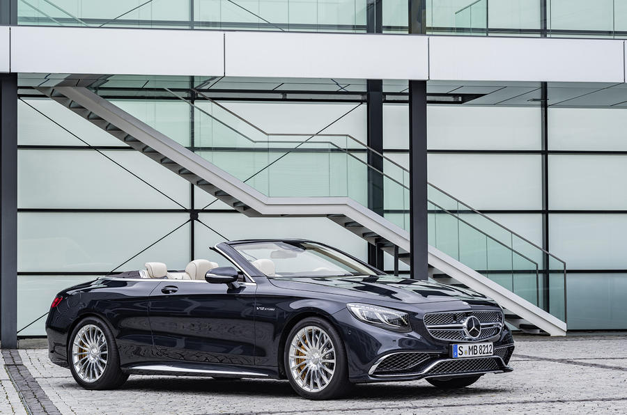 2016 Mercedes-AMG S65 Cabriolet