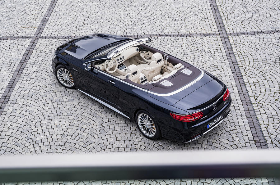 2016 Mercedes-AMG S65 Cabriolet