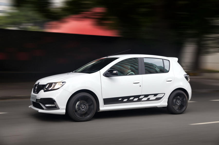 Dacia Sandero RS performance hatch in the works