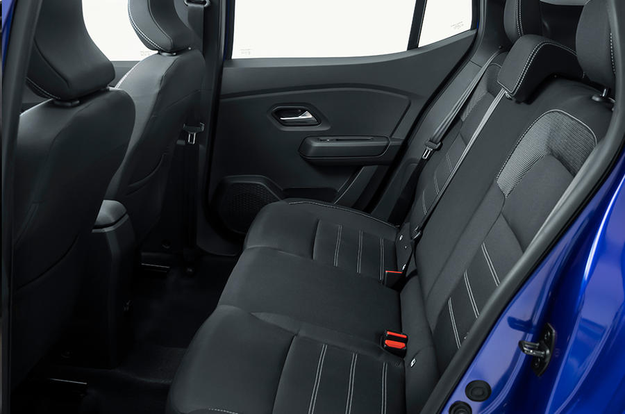 Dacia Sandero rear seats