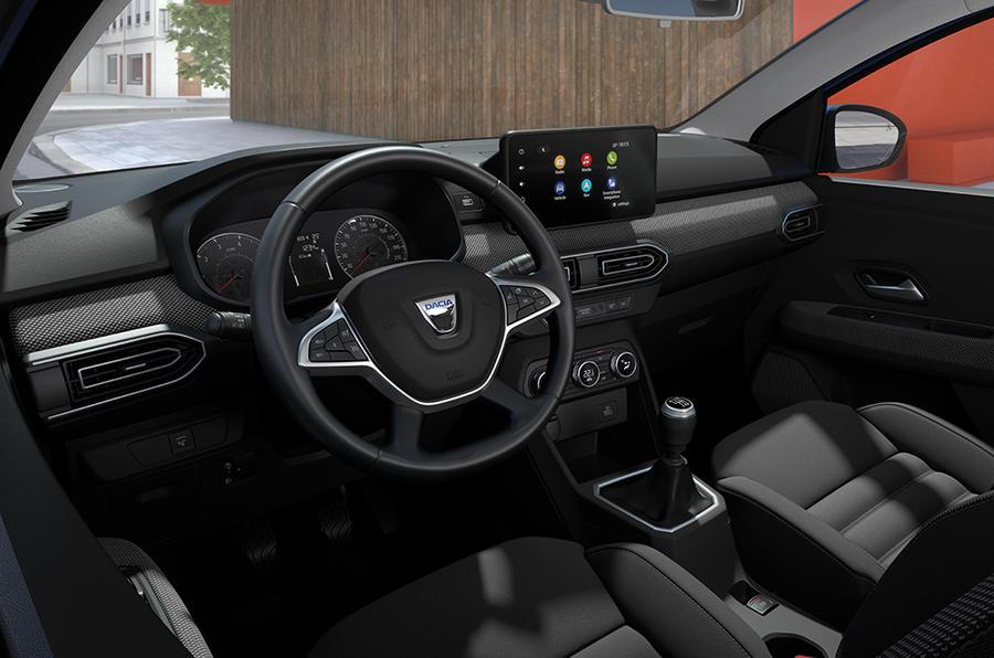Dacia Sandero dash