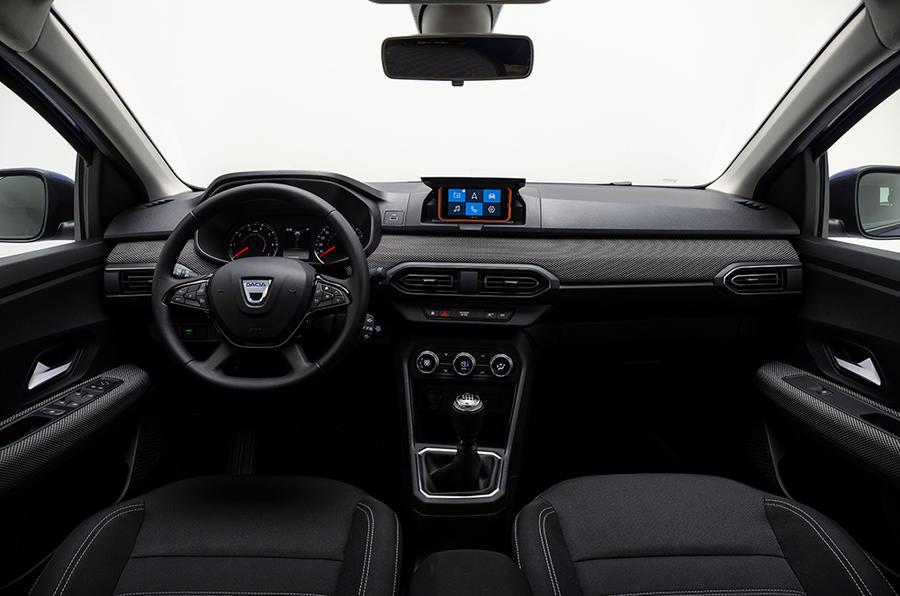 Dacia Sandero interior