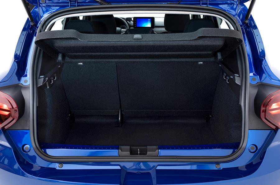 Dacia Sandero boot