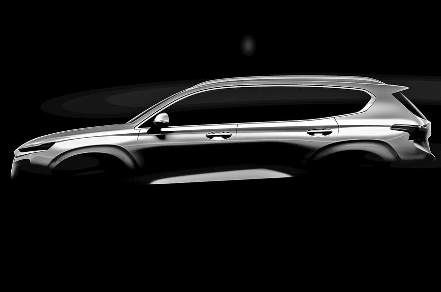 Hyundai teases the arrival of the all-new Santa Fe SUV