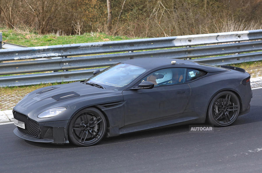 700bhp Aston Martin DBS Superleggera: new pictures of Ferrari 812 Superfast rival