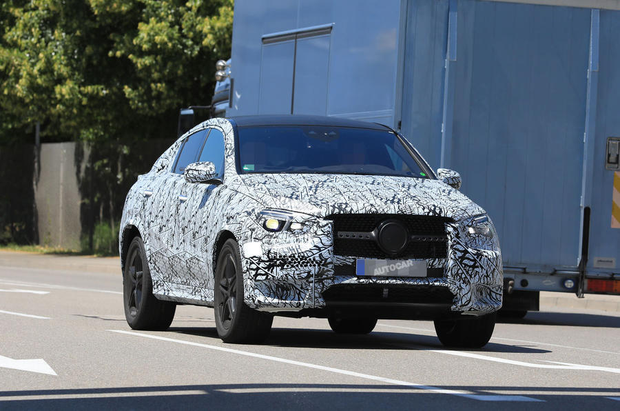 2018 Mercedes-Benz GLE and GLE Coupe: latest spy pictures