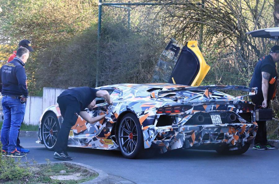 Lamborghini Aventador Svj Revealed Ahead Of Pebble Beach Autocar