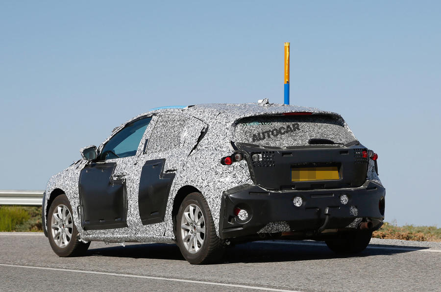 2019 Ford Focus spotted with production body