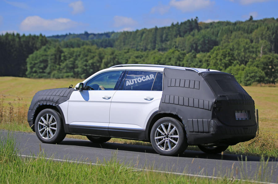 2017 Volkswagen Atlas: Crossblue concept gets production name | Autocar