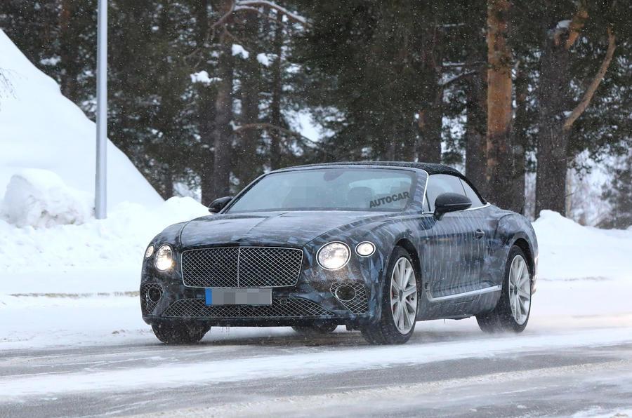 2019 Bentley Continental GT C to be brand's sportiest drop-top