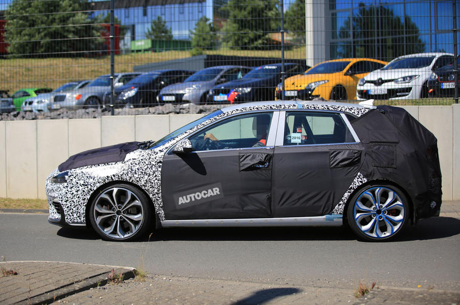 Hyundai i30N hot hatch - new spy pictures