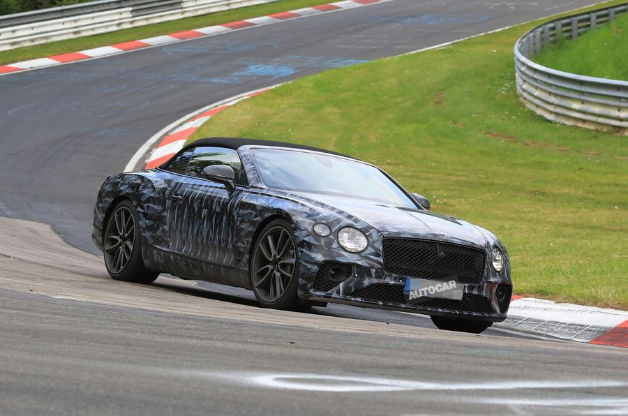 2019 Bentley Continental GT Convertible